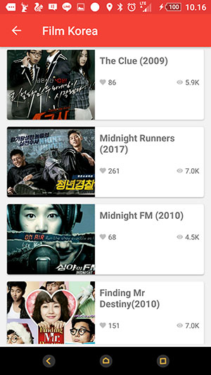 Screenshoot Aplikasi Drakor.id+ Film Korea